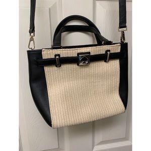 Kate Spade basket weaved purse